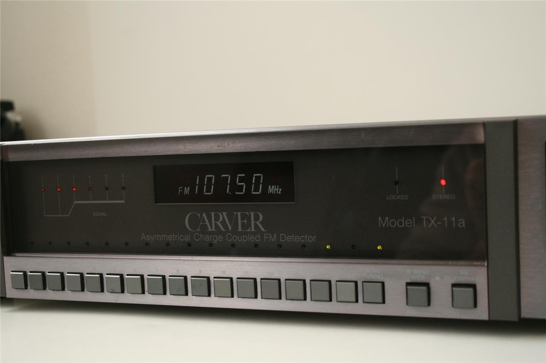Well it just so happens that I too own a Carver TX-11a now as well.